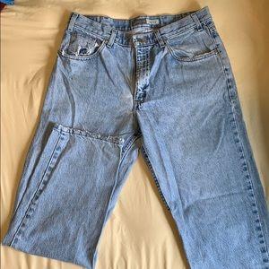 Men's 34 X 31 St. John's Bay Easy Fit Jeans